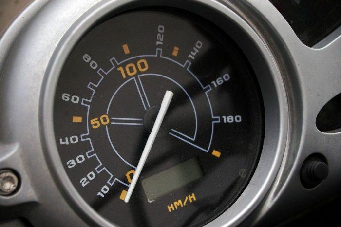 Cuentakilómetros de un coche
