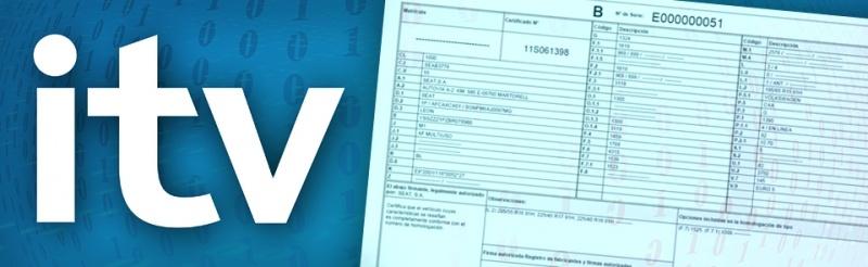 Tarjeta de ITV electrónica