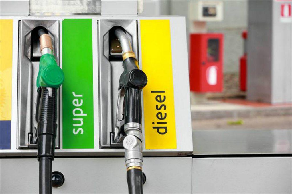 Diesel gasolina gasolinera