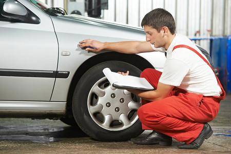 Inspección de neumáticos en la ITV