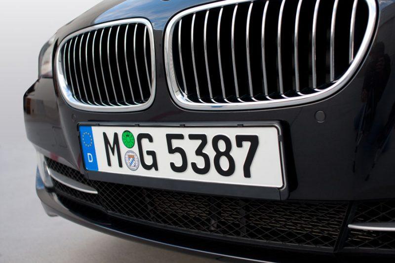 Matrícula de coche alemán