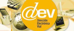 Cómo funciona la Dirección Electrónica Vial (DEV)
