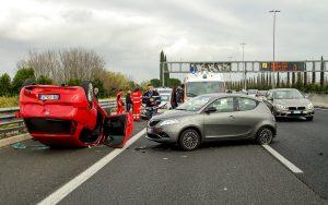 Qué hacer en caso de accidente de tráfico