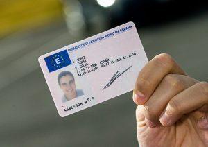 Permisos de conducir en España