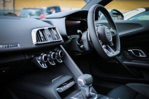 Las diferentes partes de un coche
